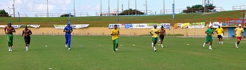 Guyana Team Trains For T20