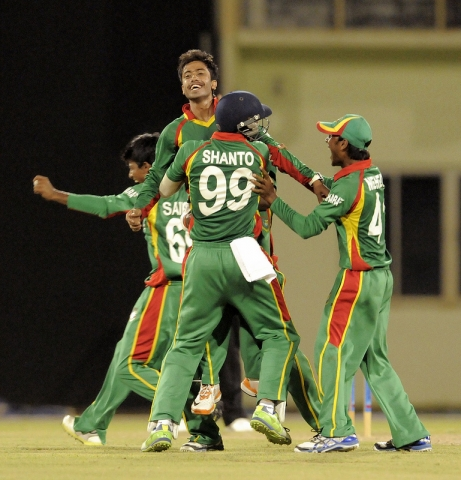 Hat-trick For Jubair Hossain, 2013