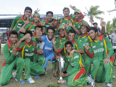 Bangladesh Win Under-19 Series, 2013