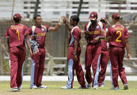 West Indies U19 Take Wicket, 2013