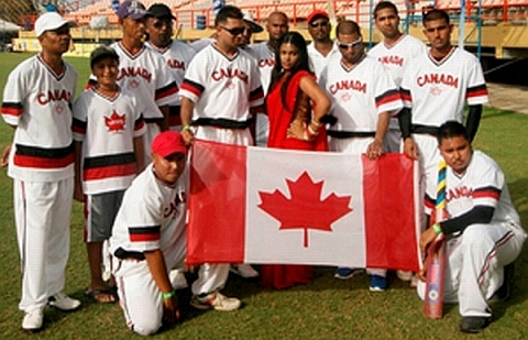 Canadian Softball Team, May 2012
