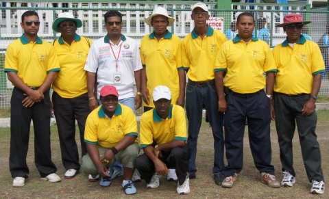GFSCA GuyCup2 Umpires, 2012