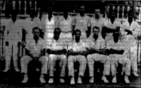 The 1952 Demerara Team