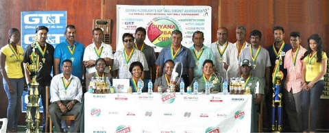 Guyana Softball Cup III Launched, 2013