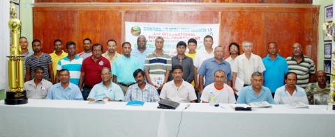 Guyana Softball Cup 2 Opens, 2012