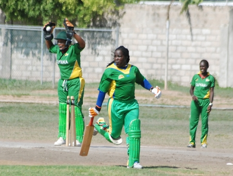 Guyana Women v SVG, 2012