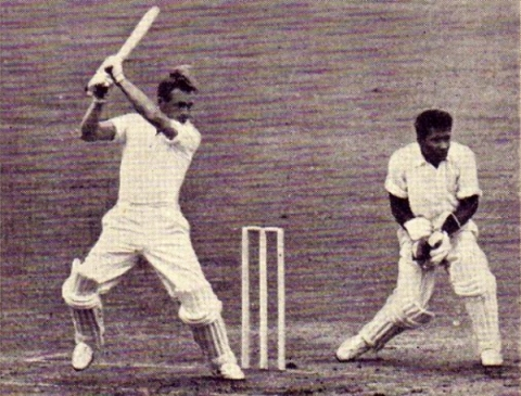Kanhai Keeping In 3rd Test, 1957