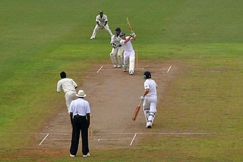 Lions Struggle Against Guyana