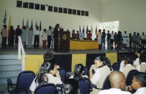 QC Auditorium, 2004