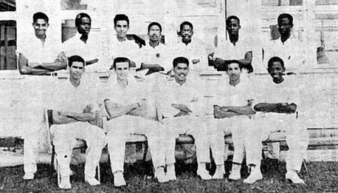 QC First XI Cricket Team, 1956