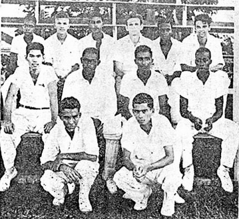 QC Cricket Team, 1957