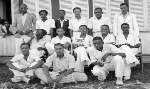 QC Cricket Team, 1936