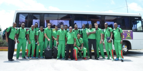 Warriors Depart For First Match