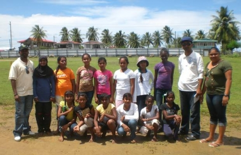 Albion Girls Windball Team, 2012