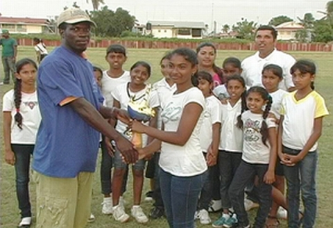 Berbice Girls Windball Winners, 2012
