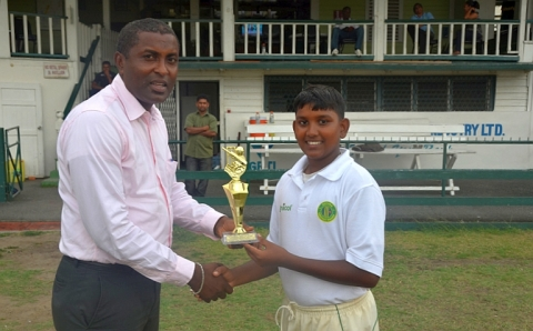 Man-Of-The-Match Yadram, 2013