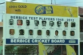 BCB Test Players Billboard, 2013