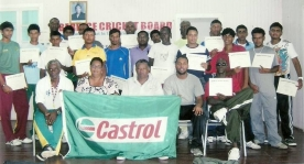 BCB Guyoil/Castrol Coaches Training