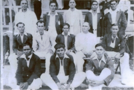 1937 Berbice Flood Cup Team