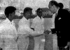 Sir David Rose Meets Cricketers