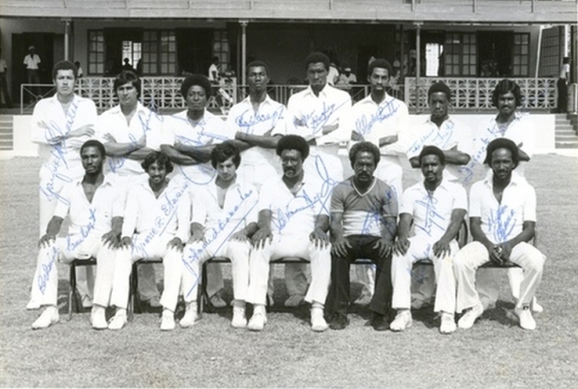 Guyana Wins The Shell Shield, 1983