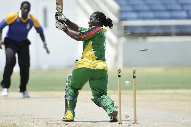 Prudence Williams Bowled, 2012