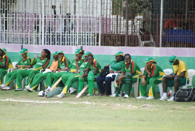 The Guyana Women's Team, 2012